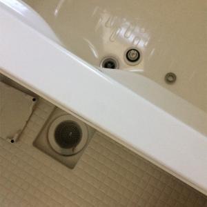 お風呂のカビ取り&洗濯機のフィルターそうじ☆