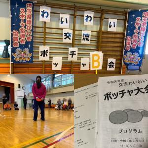 埼玉県障がい者スポーツ指導者研修会兼令和元年度わいわいボッチャ大会に参加