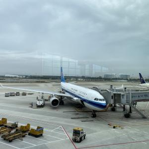 中国南方航空A330エコノミーに乗ってみた [CZ393 広州CAN~関空KIX]