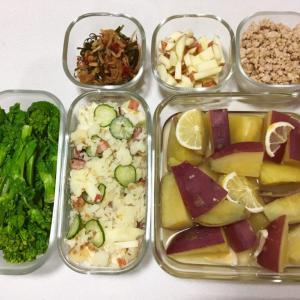 iwaki耐熱ガラスの保存容器で冷蔵庫の中もスッキリ!常備菜作りがはかどります!