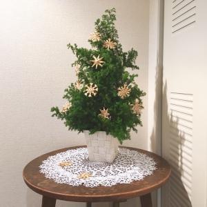 手作りのクリスマスツリー&北欧ストローオーナメント