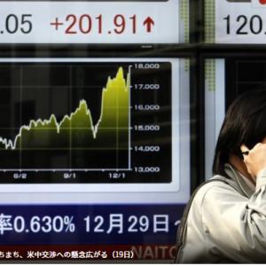 昨年末の日本の家計金融資産が10年ぶりに前年割れとなりました。