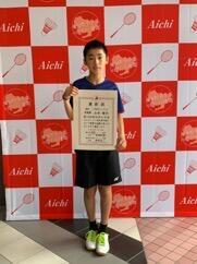 ☆ 県小学生バドミントン大会シングルス