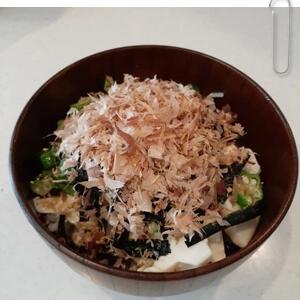 疲れた体に簡単レシピ「オクラ豆腐ご飯」食欲がない時でも食べられる簡単どんぶりご飯