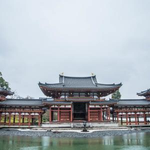 雨の鳳凰堂