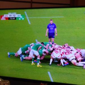 ラグビー 強豪アイルランドに勝利するファンタスティック 日本