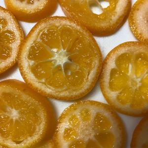 金柑の甘露煮*オーブンでドライフルーツ