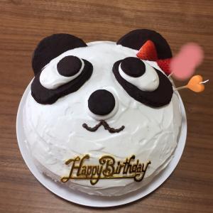 7歳の誕生日*米粉でキャラケーキ?