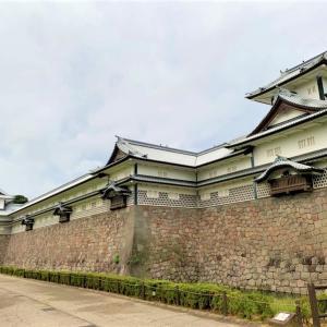 日本一美しい贅沢なまこ壁!金沢城のなまこ壁と石垣を愛でる!!