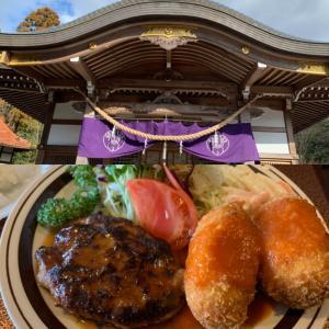 京都は左京区、九頭竜大社へ!その前に「グリル宝」で絶品ハンバーグランチ!