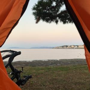 友人の結婚式=大冒険!?京都→広島まで日本海沿いロードバイク+キャンプ旅⑤