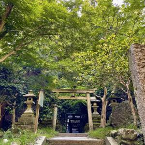 街を見守る緑「大山祗神社」の秘境と「田中神社」一乗寺の空に響く声
