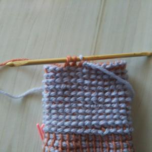 初めてのアフガン編み