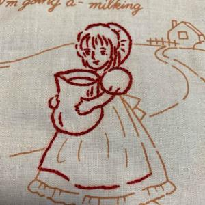 ⁑レッドワーク⁑刺繍は楽しい(^^)