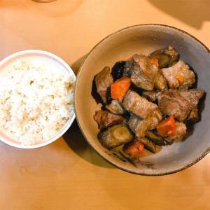 野菜と豚肉の煮物