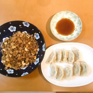 リハビリ:炒飯と餃子