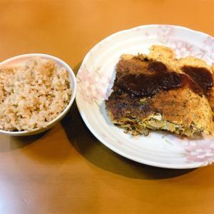 ひき肉と玉ねぎのスパニッシュオムレツ