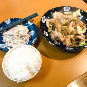 鶏肉とキャベツのポン酢煮