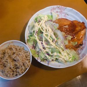 鶏肉のケチャマヨソテー