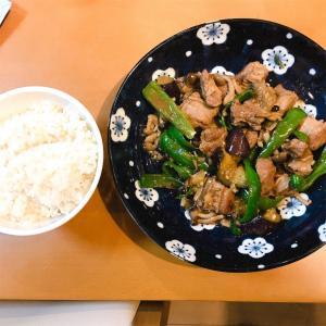 豚ハラミと野菜のオイスター炒め