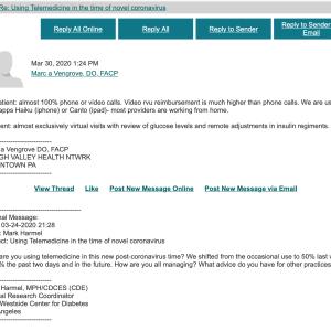 オンライン診療で投薬量の細かい指示と助言をします。