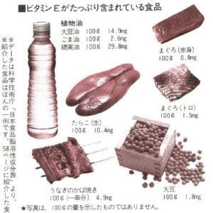 ビタミンEが多く含まれている食品と、上手にとる調理のコツ