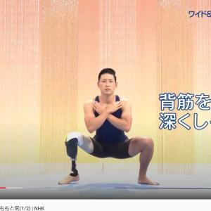 みんなで筋肉体操  シーズン5  太ももと尻(1/2)