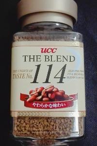 インスタントコーヒー UCC 114