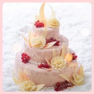 ☆GINZA SIX限定のプレミアム クリスマスケーキ♡