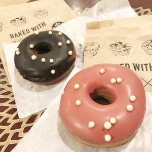 ☆スタバのベリーソースドーナツ♡