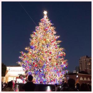 ☆恵比寿ガーデンプレイスのクリスマスツリーとバカラのシャンデリア♡