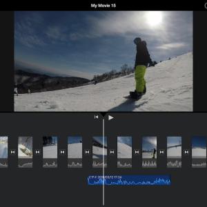 100分の動画を5分に編集〜スノボ動画を効率よくする方法〜