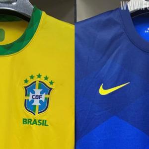 【2020年】ブラジル代表の新ユニフォームのリーク画像を入手!