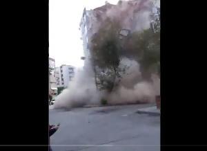 地中海 ギリシャでM7.0の地震 ビル倒壊 津波 ツイッターで続々投稿