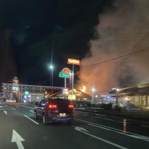 ハンバーグ人気店 「さわやか」で火災発生