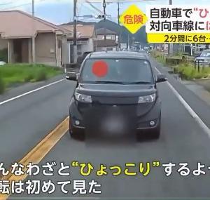 今度は車で「ひょっこり運転」