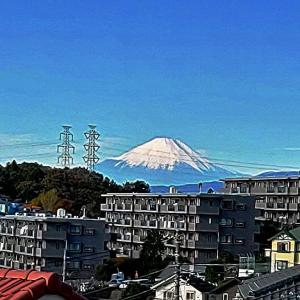富士山がきれいに見える季節