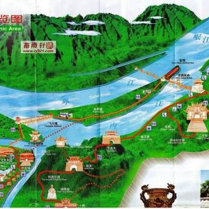 中国・李克強首相が安倍首相を都江堰へ案内