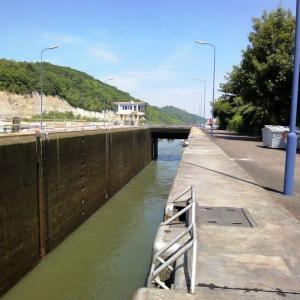 2010年 オランダ・Maas川の閘門