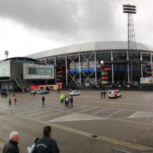 2010年 オランダ・サッカー・フェィエノールト観戦