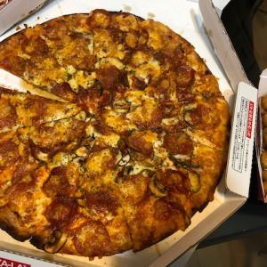 初めての宅配ピザ