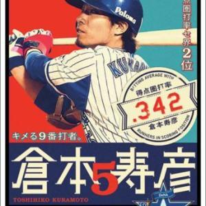 渡辺孫(倉本寿彦) .225(248-49) 1本26点 出塁率.274 OPS.558 WAR-0.8