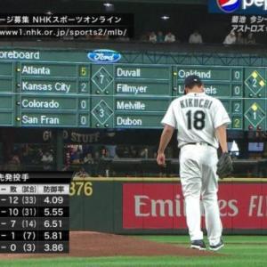マリナーズ菊池「日本で基本の低め真っ直ぐはメジャーでは危険球。真っ直ぐは高目。変化球は低め」