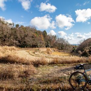 岡山県道373号線を行く