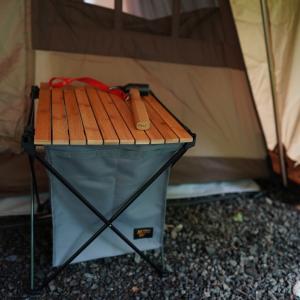 キャンプのゴミ箱のこと。ミニマルワークスのローリーバスケットUをゴミ箱として使う