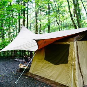 ③【キャンプレポ】雨から晴れ/道志村のネイチャーランドで過ごすキャンプ