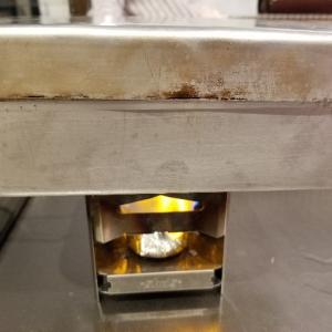 固形燃料とラージメスティンで炊き込み御飯(リベンジ!)を作る!