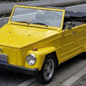 VW 181/Thing 入庫・・・