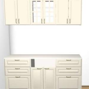 IKEAの背面収納の完成形