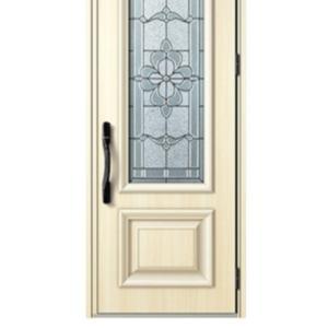 玄関ドアと腰壁の件